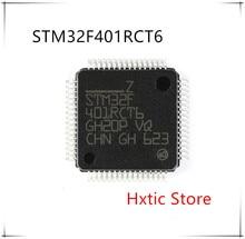 10PCS/lot STM32F401RCT6 STM32F401 QFP-64 IC chip New original