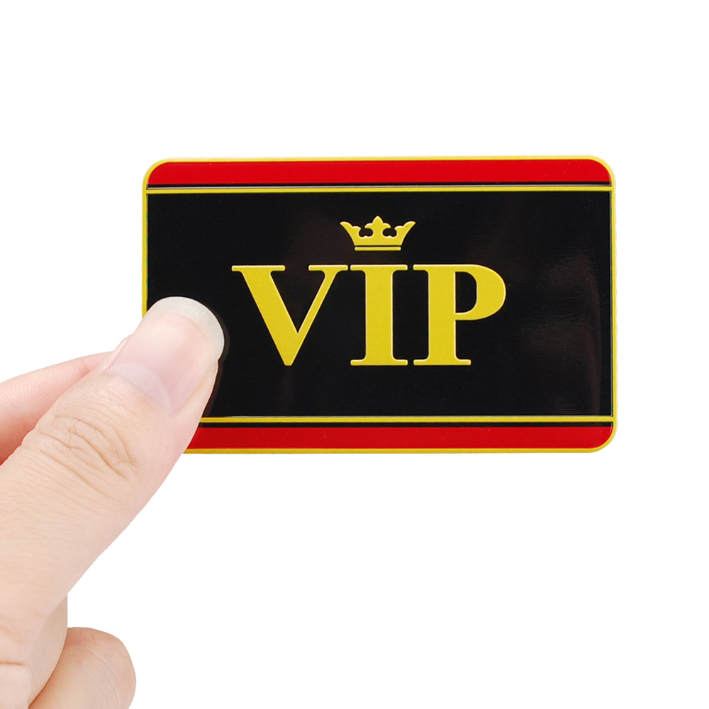 Car Styling Auto Car Sticker Emblem Badge Decal For VIP