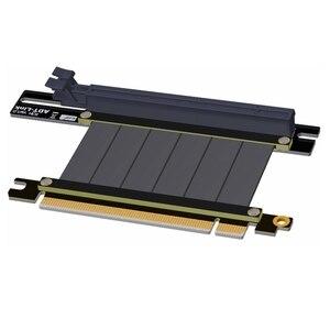 Image 4 - Cartes graphiques adt link support Vertical PCIe 3.0x16 carte graphique vidéo vers PCIe 3.0x16 câble dextension de fente pour ATX pc case