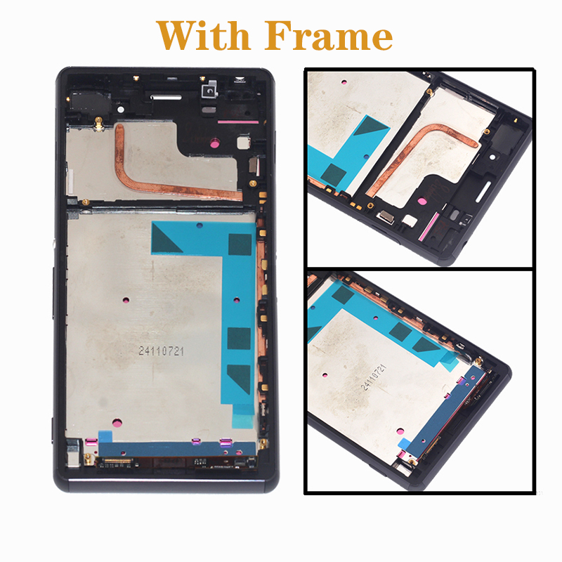 """Image 2 - 5.2"""" AAA display for SONY Xperia Z3 LCD + touch screen instead for SONY Xperia Z3 L55T D6603 D6653 LCD mobile phone repair parts-in Mobile Phone LCD Screens from Cellphones & Telecommunications"""