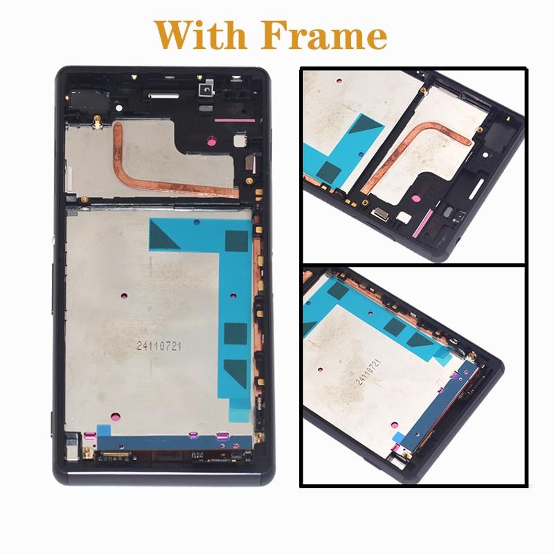 """Image 2 - 5,2 """"Оригинальный дисплей для Sony Xperia Z3 ЖК дисплей ЖК дисплей + сенсорный экран, а не для Sony Xperia Z3 L55T D6603 D6616 D6653 D6683 ЖК дисплей-in ЖК-экраны для мобильного телефона from Мобильные телефоны и телекоммуникации"""