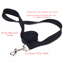 Nylon Walk Dog Leash Selectable Size