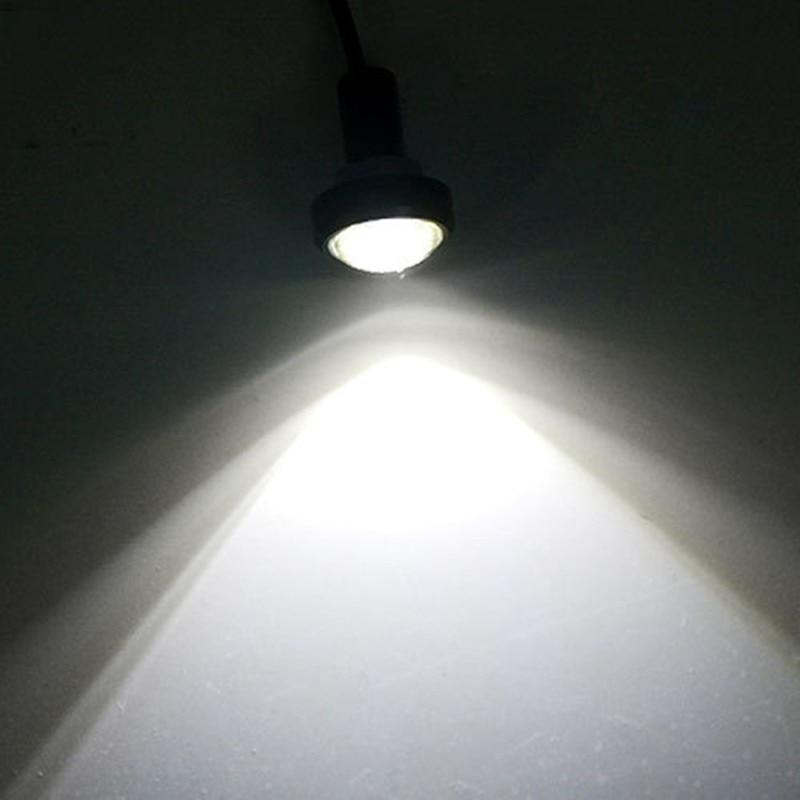 1 pcs Novo 3 W 18mm cor shell preto Daytime Running Luzes LED de Alta - Faróis do carro - Foto 6