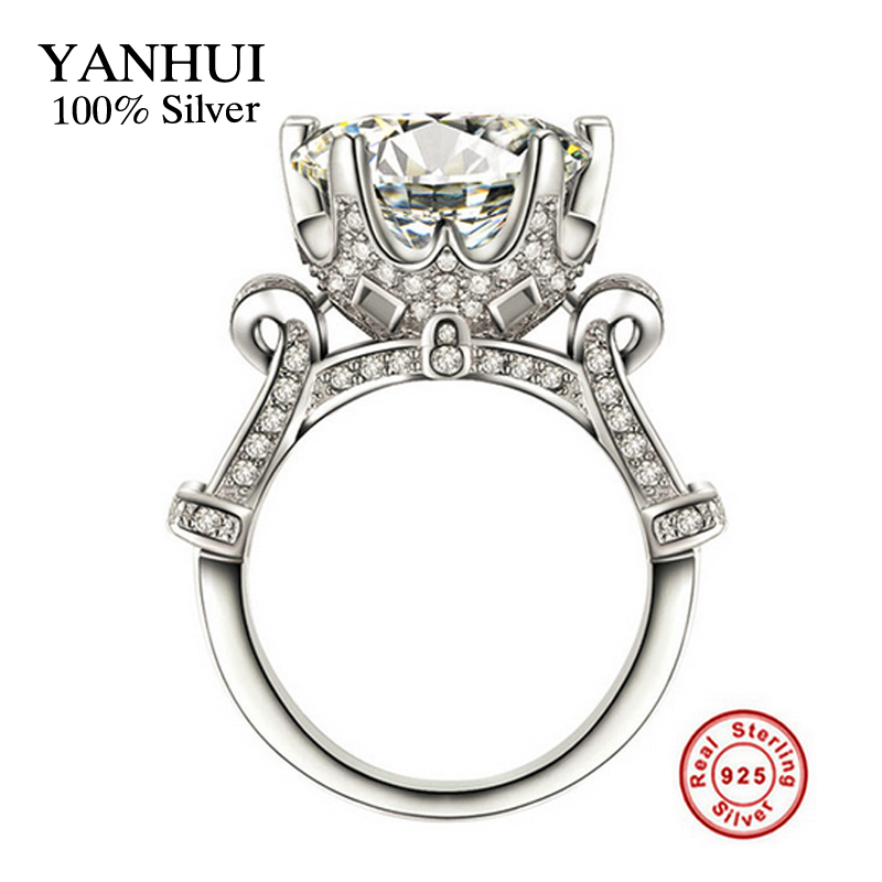 Real 100% Solid 925 Sterling Silver Rings