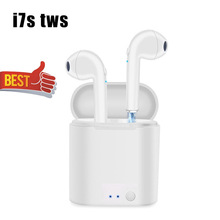i7s tws Bluetooth Earphone Wireless Earphones In Ear Earbuds Stereo Binaural PK i9s i10 TWS Headset For Android IOS All Phones szwatch i9 tws wireless headset bluetooth earphone in ear hidden earbuds headset stereo sport portable for iphone7 8 android