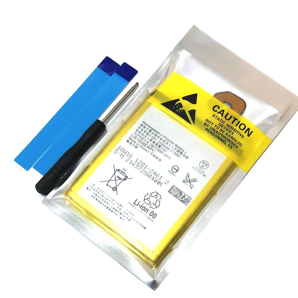 Boa qualidade Alta Capacidade LIS1558ERPC Para Sony Xperia Bateria Z3 L55T D5833 D6616 D6708 L55U D6653 D6603 D6633 D5803 3100mAh