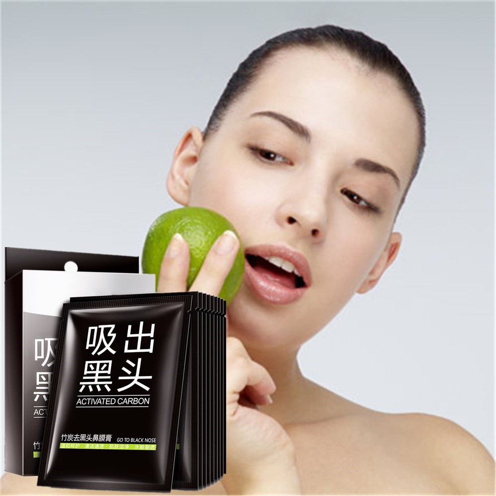 Black Skin Care: Nose Blackhead Remover Black Mask Skin Care Peeling Acne