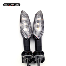 LED Turn Signal Light Indicator Lamp For YAMAHA YZF R15 YZF R25 YZF R3 2018 Motorcycle Accessories Front & Rear Clear Blinker
