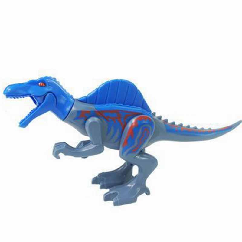مجموعة مكعبات حماية منطقة الديناصورات الجوراسية من Lockings حديقة الديناصورات العالمية مجموعة لعب الأطفال مجموعة ألعاب الحيوانات