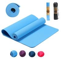 72*24*0.23 inch TPE Yoga Mat Non Slip Elastic Carpet Gymnastic Pilates Mats for Outdoor Sport Gym Exercise Fitness Tasteless Pad