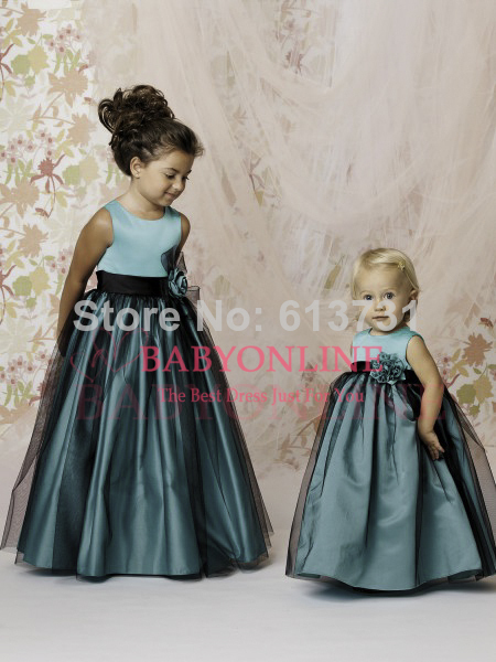 Aliexpress.com : Buy 2014 Designer Flower Girl Gowns A Line ...