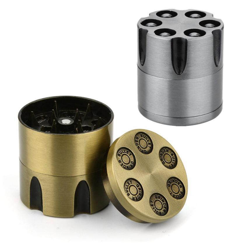 Amor fumar 30mm hierba alta calidad Zinc Metal Spice tabaco Herb Grinder para fumador como fumar accesorio 4 piezas trituradora