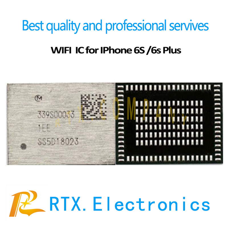 10pcs/lot 339S00033 WIFI IC for IPhone 6S 6S Plus U5200RF module bluetooth CHIP High temperrature Repair mobile phone circuits-in Mobile Phone Circuits from Cellphones & Telecommunications on AliExpress - 11.11_Double 11_Singles' Day 1