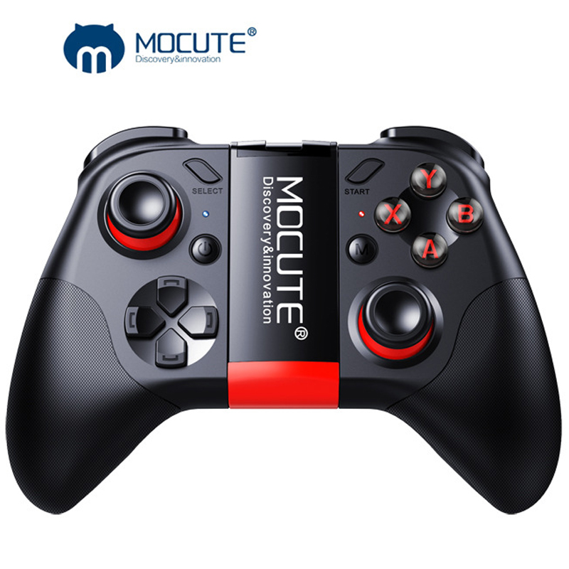 050 Bluttooth Gamepad VR Game Pad Android Joystick <font><b>Bluetooth</b></font> Controller Selfie <font><b>Remote</b></font> <font><b>Control</b></font> <font><b>Shutter</b></font> Gamepad for PC Smart Phone image