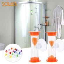 ABS песок игрушечные часы ванная комната дома практичные удобные аксессуары инструмент для купания гаджет душ таймер красочные песочные часы