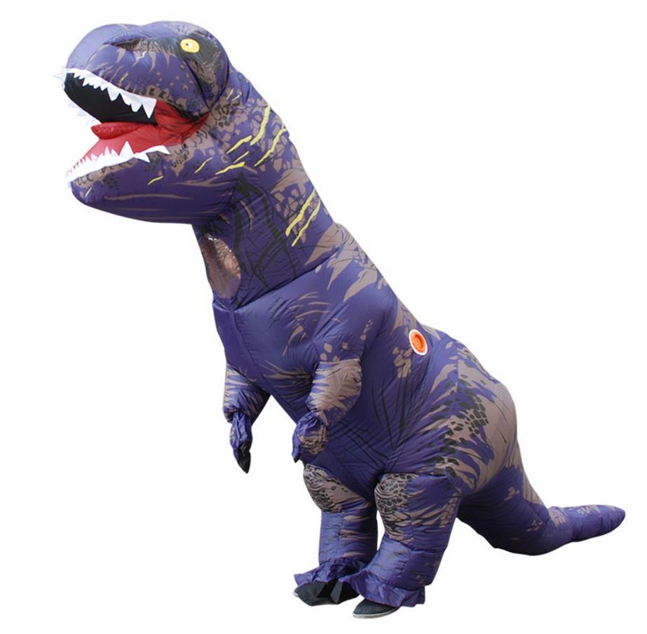 Inflatable Dinosaur Costume Christmas Cosplay Dinosaur Animal Jumpsuit Halloween Costume Party Fancy Dress For Women Men Gags & Practical Jokes Toys & Hobbies
