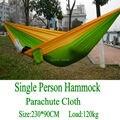 Высококачественный портативный гамак для сада  кемпинга  путешествий  мебели  выживания  гамак  качели  спальная кровать для одного человек...