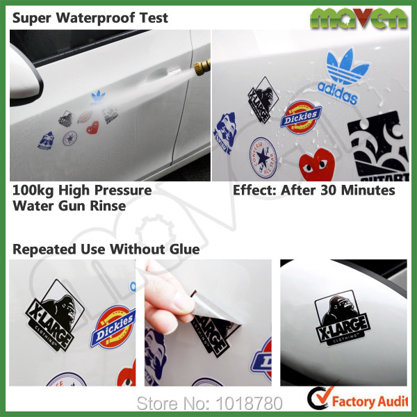 50PCS/Lot Free Shipping illest Best Car Decals And Stickers