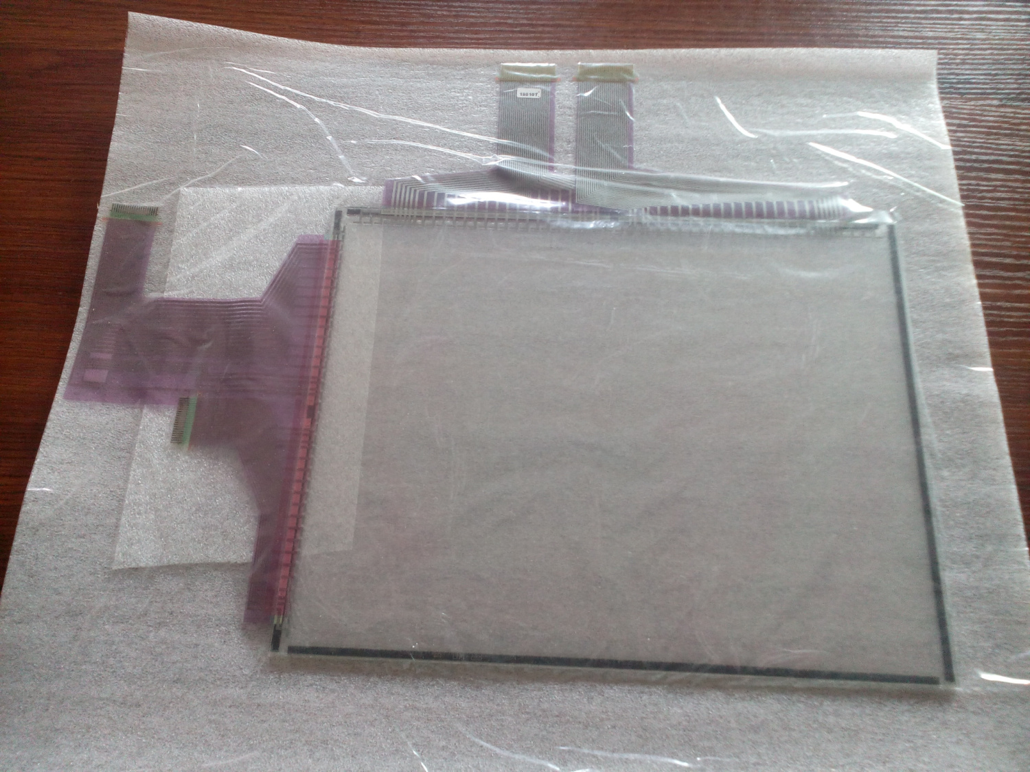 Protective Film 1 Year Warranty For Omron NS12-TS01-V2 Touch Panel Glass
