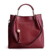 New Arrival Lady Bag 2017 Fashion Woman Genuine Leather Bags Large Capacity Office Las Tote