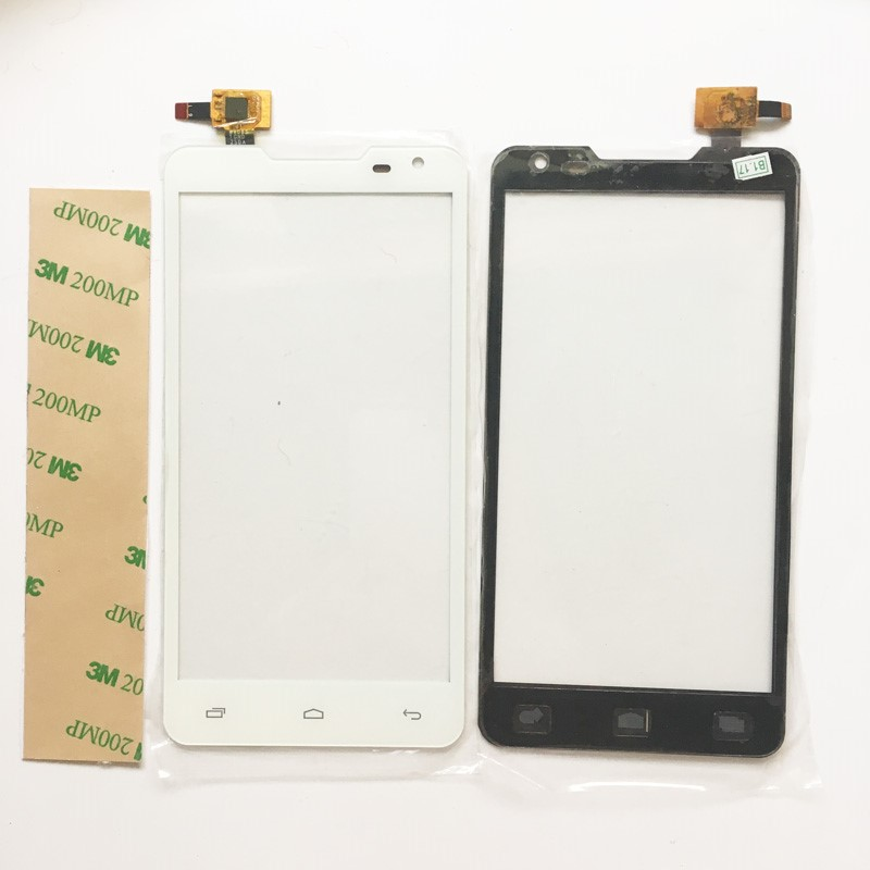 5.0 Touch Screen For Prestigio MultiPhone 5044 PAP5044 Touchscreen Duo PAP 5044 Touch Digitizer Front Glass Panel Black Color