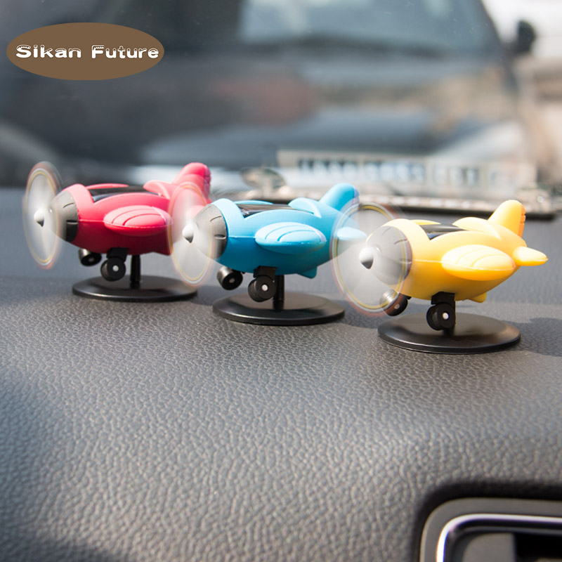 Automobiles & Motorcycles Zinc Alloy Mini Home Auto Air Freshener Round Solar Rotating Car Perfume Fragrance Ornaments Interior Reusable Gift Accessories
