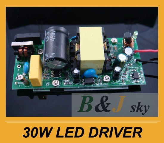 Wholesale, 30w led driver ,Power supply for High Power LED Lamp light ;output DC16-18V 2100mA ;Free shipping