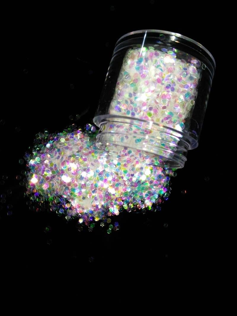Bunte Glitter Pulver Pailletten Hexagon Funkeln Nagel Flakies Glitter Flake Paillette Angenehm Im Nachgeschmack 1/16 060 10 Ml 1 Box 1,5mm