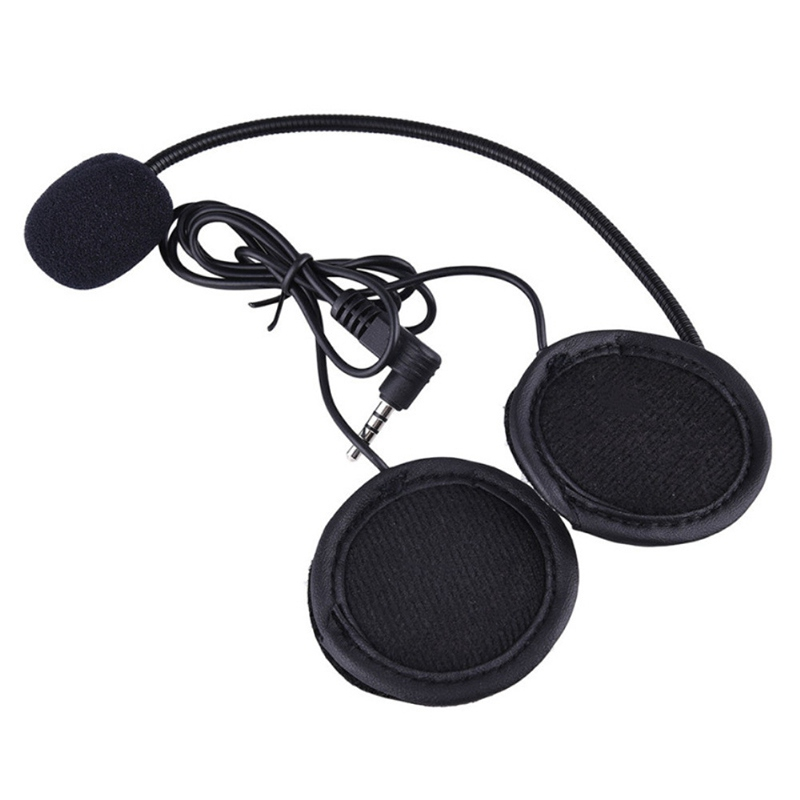 Wired Headset MicSpeaker for V4V6 Motorcycle Bluetooth Helmet Intercom with Clip Intercomunicador Moto Accessories (6)