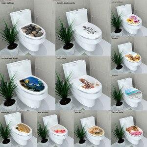 sticker WC cover toilet pedest
