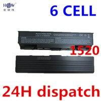 6cells Battery For Dell Vostro 1500 1700 For Inspiron 1520 1521 1720 1721 GK479 GR995 KG479