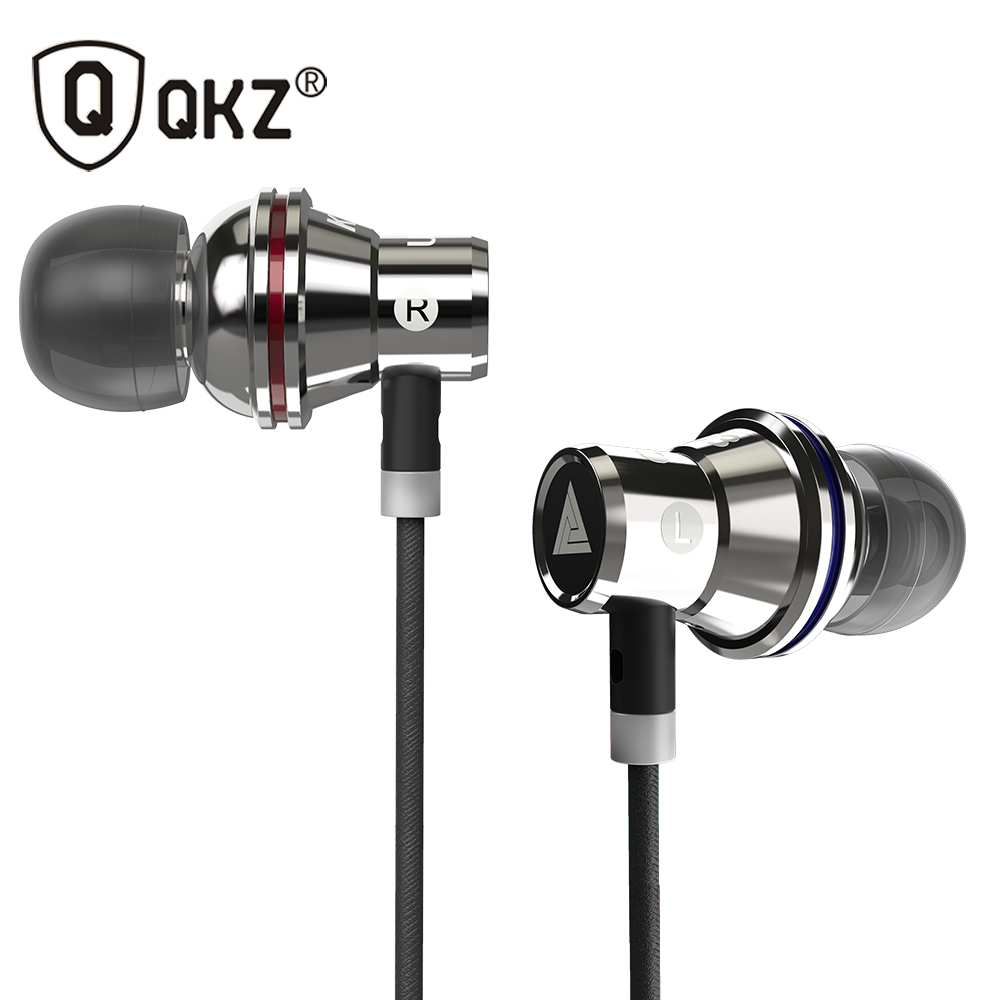 все цены на QKZ KD3 Earphones Professional In-Ear Earphone Metal Heavy Bass Sound Quality Music Earphone With Microphone Headset онлайн
