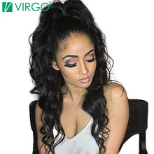 360 Lace Frontal Wigs For Black Women Brazilian Human Hair Wig Body Wave 100% Natural Remy Hair Pre Plucked With Baby Hair 10-22