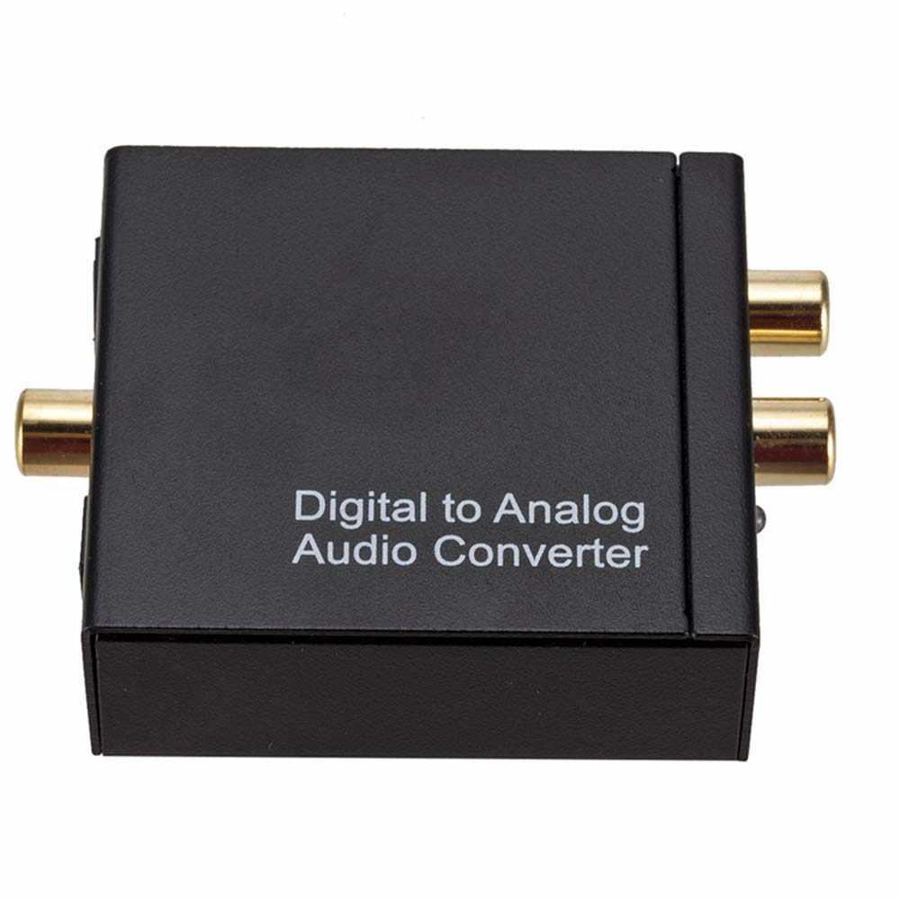 YuBeter Digitale ad Analogico Audio Converter DAC Amplificatore Decoder Coassiale Ottico Toslink SPDIF Audio Segnale RCA ad Analogico L/ R 3.5