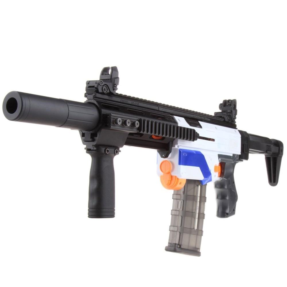 WORKER Children Lightweight 3D Printing Modularized Mod F10555 Pump Kit Barrel Jaket Combo 11 Items for Nerf Retaliator Gun Toys