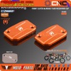 CNC Front Clutch Brake Fluid Reservoir Cover Cap For KTM SX SXF SMR EXC EXC F