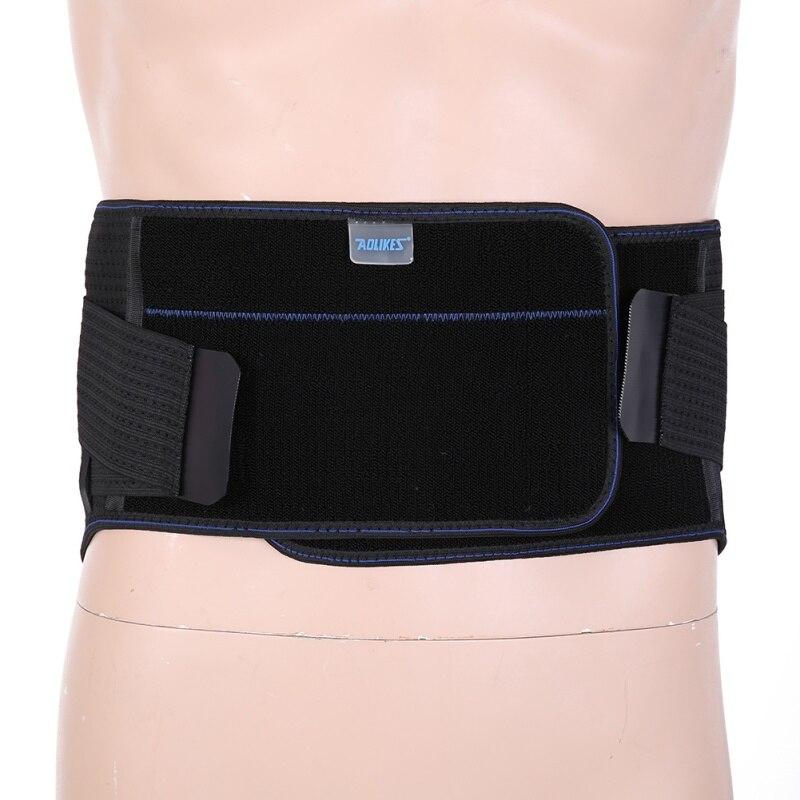 Men Women Waist Body Sports Pressurized Belt Lower Back Steel Waist Brace Lumbar Spine Back Pain Strain Lifting Belt Support