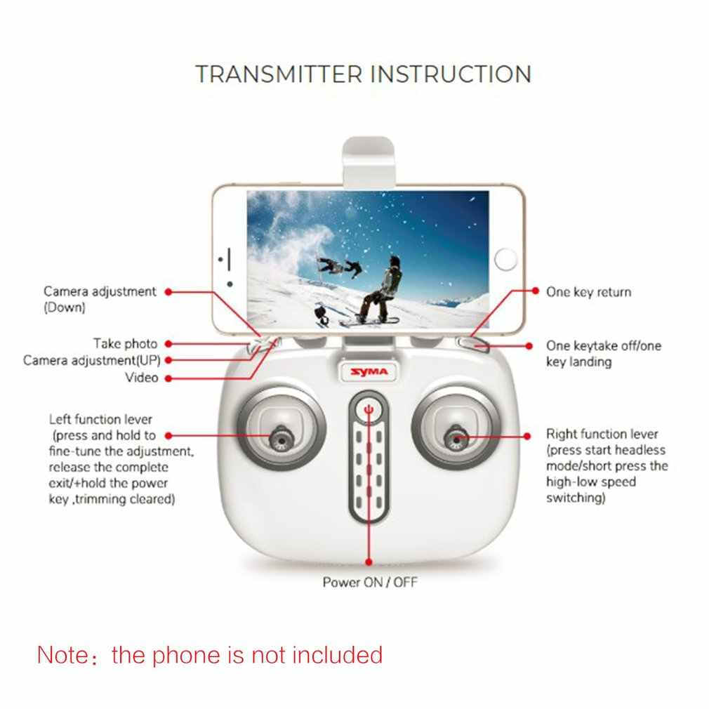 SYMA X8PRO gps Дрон WI-FI с видом от первого лица 720 P HD Камера Регулируемый Камера Дрон Квадрокоптер с 6 осями и функциями удержания высоты x8 pro RC Quadcopter RTF