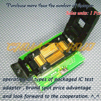 BM11131 Programmer Adapter PM-RTC005-366A IC51-0804-566 Adapter/IC SOCKET/IC Test Socket 100% new ic51 0162 sop16 ic test socket programmer adapter burn in socket ic51 0162 271