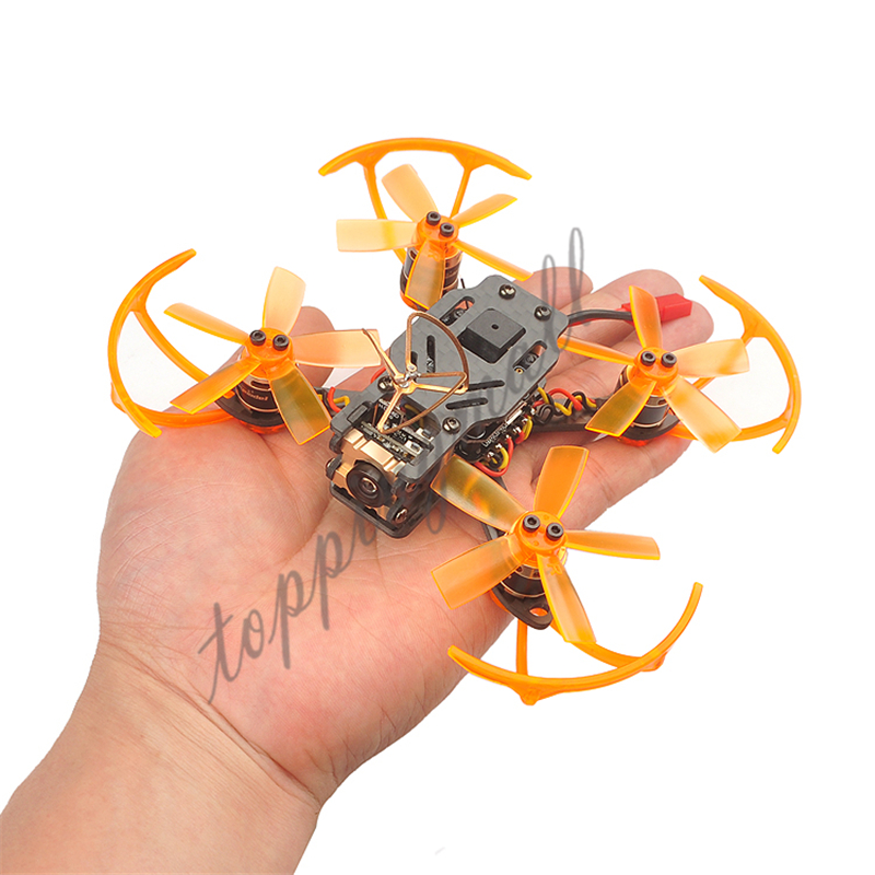 Toad 90 Micro Brushless Racing FPV Drone With Camera F3 DSHOT Flight Controller with Frsky / Flysky / DSM2/X RX Receiver BNF drone with camera rc plane qav 250 carbon frame f3 flight controller emax rs2205 2300kv motor fiber mini quadcopter