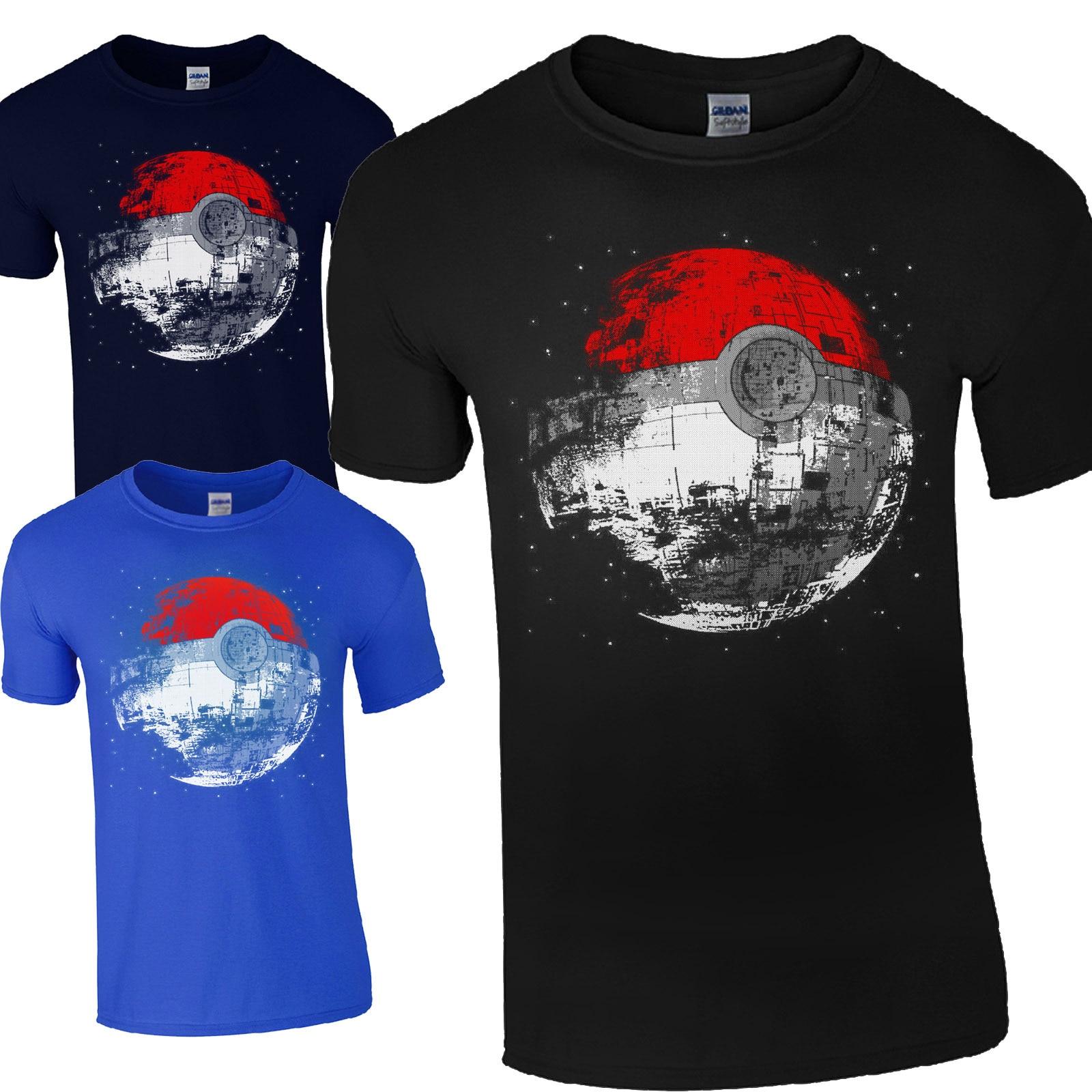 Children T Shirts boys POKEMON Ball T Shirt Summer Top Tee Cartoon