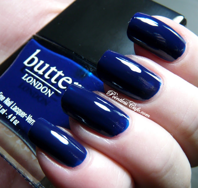 Butter london 3 free nail polish oil royal navy Dark Blue makeup-in ...