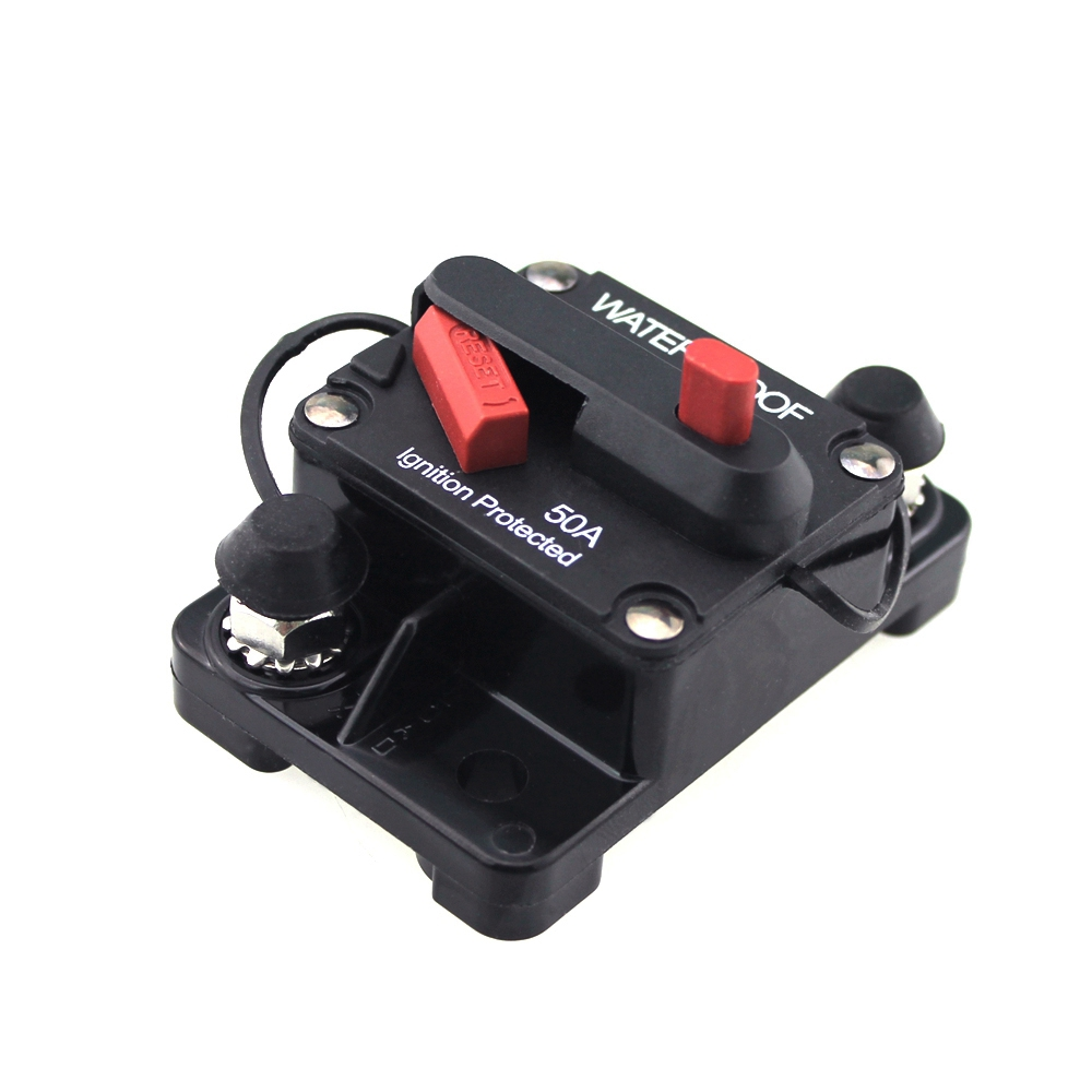 DC 12V 80A Car Protection Audio Inline Circuit Breaker Fuse SODIAL R