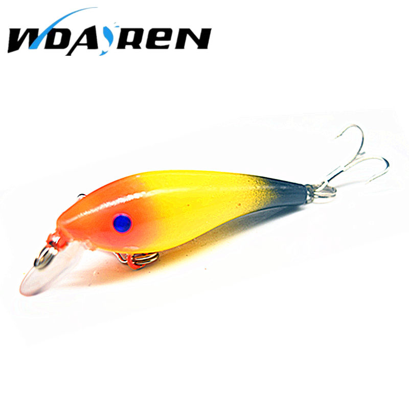 Hot Sell Crank bait Fishing Lure 57mm 4.4g Hard Bait Wobbler Crank Bait Floating Lure 1.5-3.5M Artifical Peche 8 # Hook FA-320 crankbait fishing lure 112mm 14g hard bait wobbler crank bait minnow lure 1 2 3 5m artifical peche with treble sharp hook
