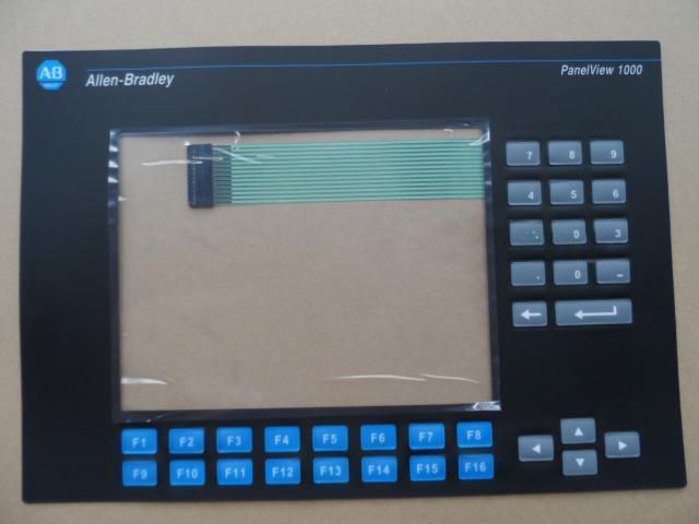 1PCS New For Allen-Bradley PanelView 1000 2711-K10G3 2711-K10G8  2711-K10C15  Membrane Keypad new protective film or membrane for allen bradley panelview plus 1000 2711p t10