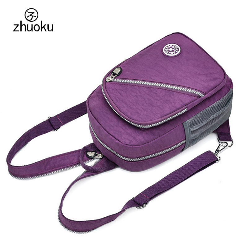 004fc263ac Aliexpress.com   Buy Mini Backpack Rucksack good quality Waterproof nylon  Purse Very cheap price small double Shoulder bag 15 25 days to Moscow ZK762  from ...