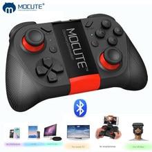Controle de videogame mofofo 050 com bluetooth, joystick por gatilho para celular iphone, android, pc, smart tv box, controle de joypad