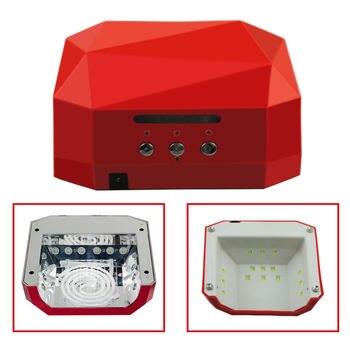 36 W lampe pour ongle lampe UV lampe à LED diamant sèche-ongles pour ongle tout pour manucure séchage vernis à ongles lampe manucure Machine CCFL