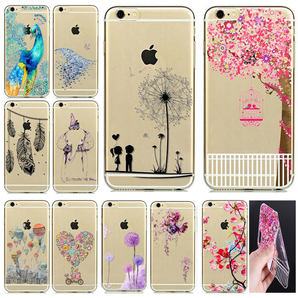 """Phone Case Cover For iPhone 6 6S 4.7"""" Ultra Soft Silicon"""