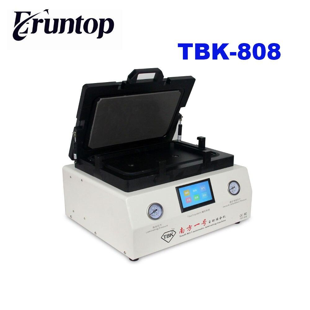 TBK 808 12 дюймов изогнутые Экран вакуумного ламинирования и пузырь удаления ламинатор и противопузырьковая камера для ЖК дисплей Экран ремонт